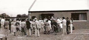 Opening of Meeting Room on 29th March 1987